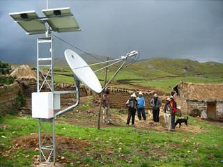 Internet rural (por satélite)